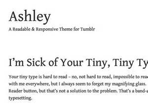 tumblr themes and names ashley tumblr