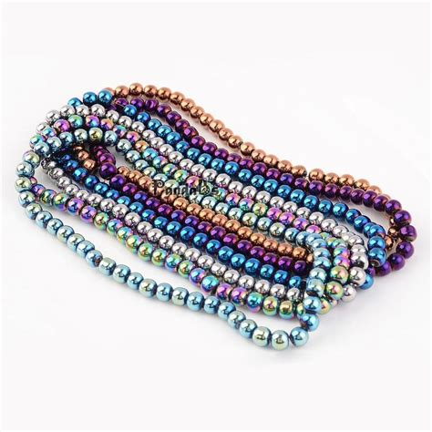 Kalung Metal Wax Rope Retro Color Korea Style ヾ ノ4 6 8 10mm electroplate glass ᗛ bead strands carnival celebrations ᐂ