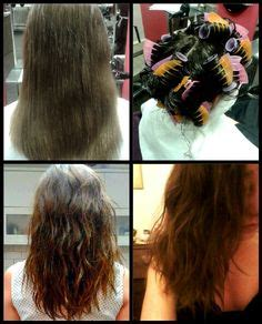 diy beach wave perm beach wave perm before and after perm pinterest
