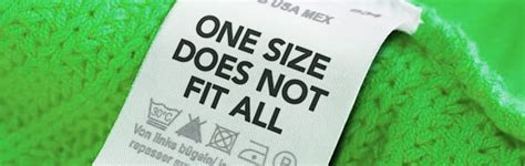 One size doesn?t fit all   Oggi