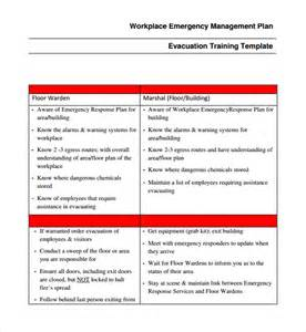 Disaster Response Plan Template by Sle Emergency Response Plan Template 9 Free