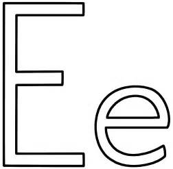 letter e coloring page free trace letter e coloring pages