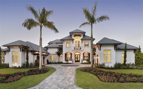 naples architect designs golf magazine home plan