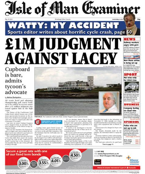 layout tabloid newspaper isle of man examiner switches from broadsheet to tabloid