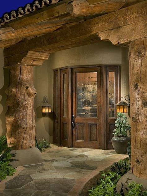 log home exterior doors exterior log home door for the home
