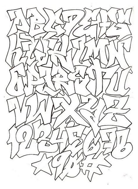 graffiti alphabet letters a z graffiti alphabet a z