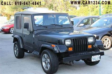 Jeep Wrangler 1992 For Sale 1992 Jeep Wrangler For Sale Carsforsale