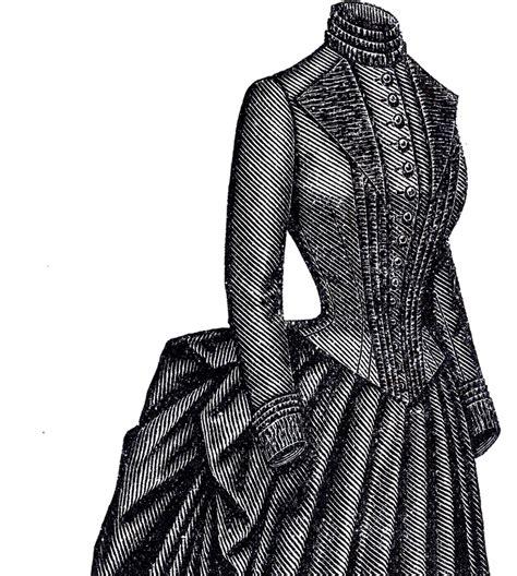 marvelous victorian bustle dress  graphics fairy