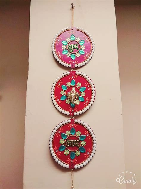 Navratri Decoration At Home by Cd Wall Hanging Diy Wall Hanging Best Out Of Waste From Cd Crafty Zilla Youtube