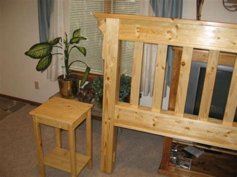 king size white pine headboard woodworking talk