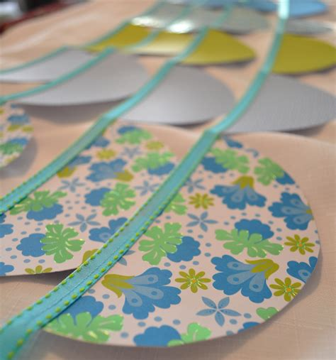 How To Make A Paper Garland - how to make a paper garland living well spending less 174