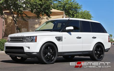 land rover white black rims range rover sport white with black rims www pixshark com