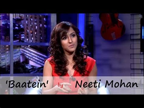 www simon mohan new year song baatein the song by neeti mohan new this week