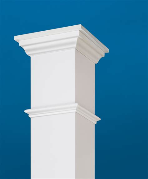 porch column wraps vinyl post wraps certainteed restoration millwork 174 column wraps boost curb appeal