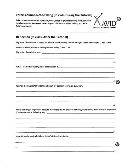 tutorial questions for avid exles image gallery trf form 2015