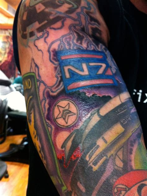 tattoo assassins video game this man s flesh is a tribute to video games kotaku