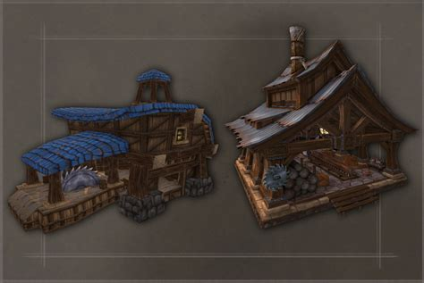 Artcraft A Look At Garrison Art In Warlords Of Draenor Building Upgrade Plans Wow