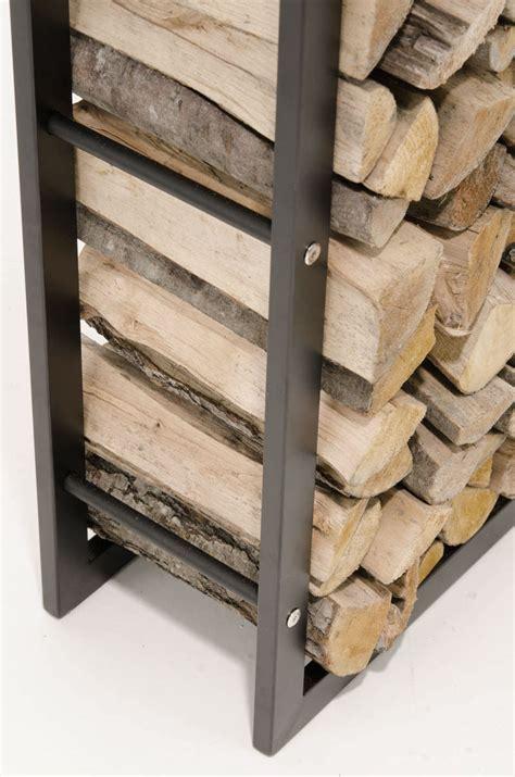 Metal Firewood Rack by Firewood Rack Black Log Shelf Basket Stand Holder Metal Wood Storage Ebay
