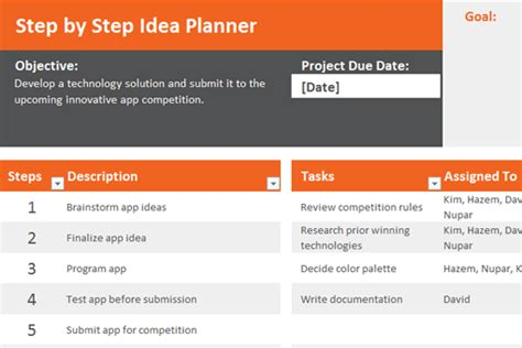 Planner Design 13 useful excel templates for freelance designers