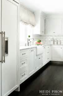 White Kitchen Cabinet Hardware Ideas by Transitional House Kitchen Style Home Bunch