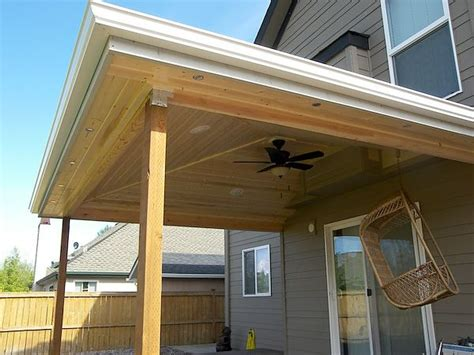 Hipped Patio Cover in Albany, Oregon : TnT Builders