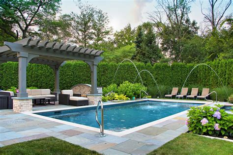 Backyard Landscaping Ideas Landscape Traditional With Backyard With Pool Landscaping Ideas