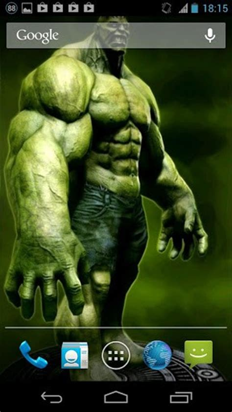 wallpaper for android hulk hulk live wallpaper app for android