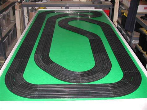 ho slot car layout design software ho slot car racing track table construction