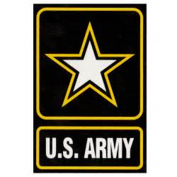 Lighting Flags U S Army Logo Decal