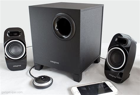Speaker Wireless Laptop creative t3250 wireless 2 1 pc speaker system review