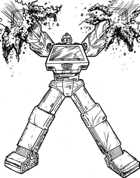 ironhide coloring pages coloring pages