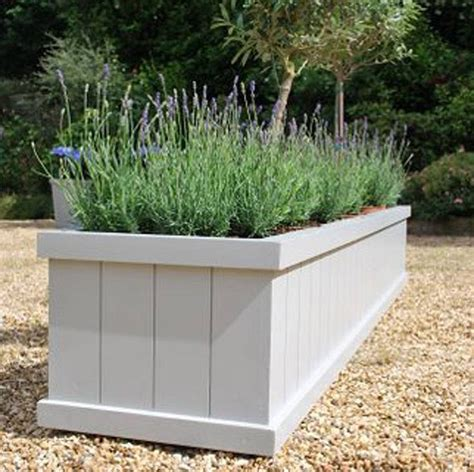 Planters Uk by 25 Best Ideas About Wooden Planters On Wooden