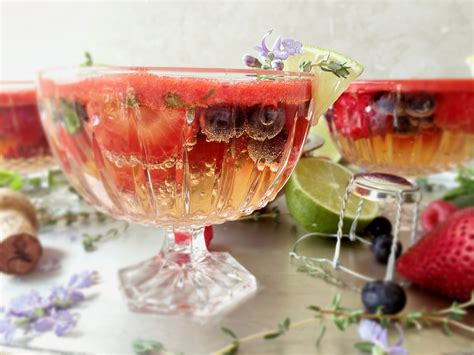 Kacamata Sunglass Wanita Fashion Jelly Drink chagne jelly with mixed berry dessert