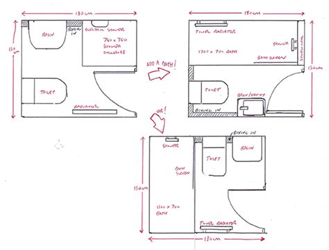 shower room layout small ensuite plans home design