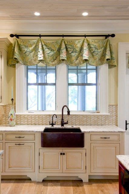 window valance ideas for kitchen 30 impressive kitchen window treatment ideas not wild