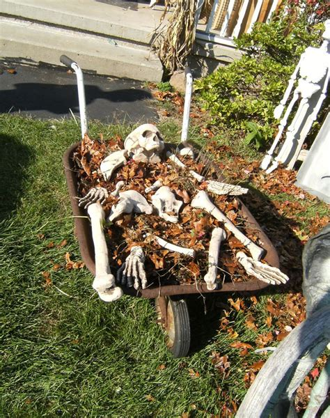 cheap decorations for outside 12 spooky outdoor decor ideas this silly