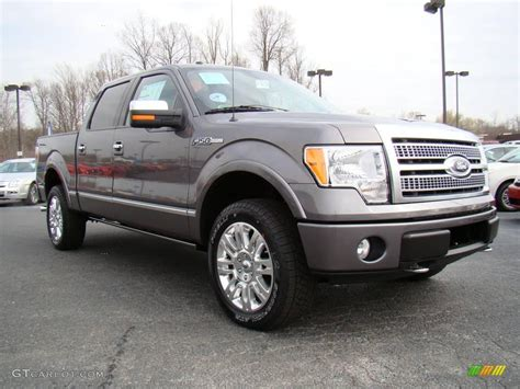 2009 Ford F150 by 2009 Sterling Grey Metallic Ford F150 Platinum Supercrew