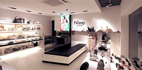 chic new shoe store design in barcelona commercial