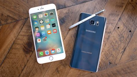 apple iphone 6s plus vs samsung galaxy note 5