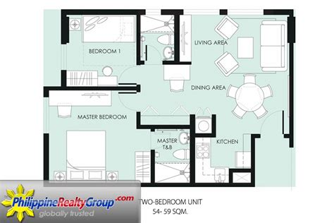 2 bedroom bungalow house plans philippines grand residences cebu city cebu philippine realty group