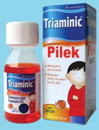 Obat Triaminic triaminic pilek rasa jeruk the