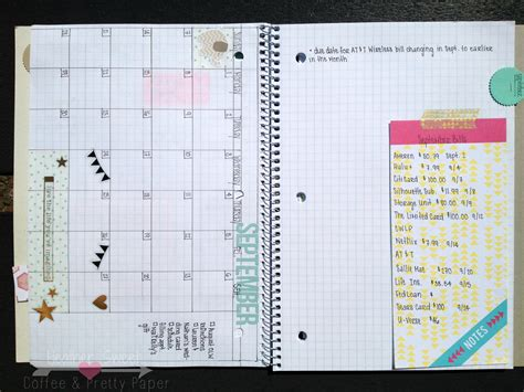 how to make a daily calendar 15 different ways to use a blank notebook