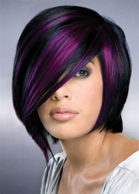 Black And Purple Hairstyles by 25 Hair Color Trends 2012 2013 Hairstyles
