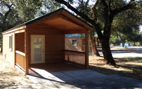 County Park Cabins by Cabins Are New Option At Potrero County Park