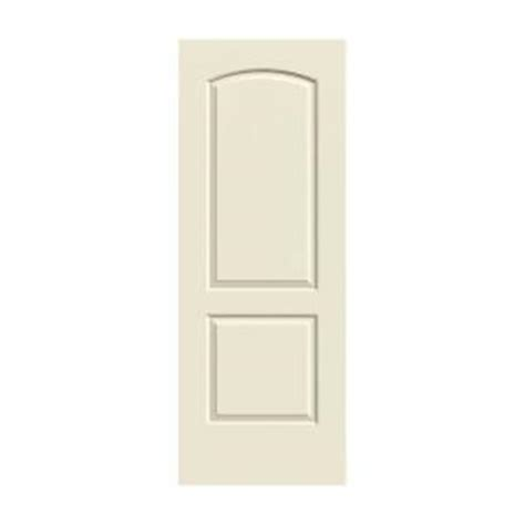 jeld wen smooth 2 panel arch painted molded single prehung jeld wen 28 in x 80 in molded smooth 2 panel arch primed