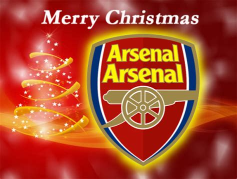 a merry christmas from all at arsenal arsenal arsenal