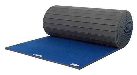 10 X 10 One Flexiroll Mat - carpet bonded foam gymnastics mats by ez flex