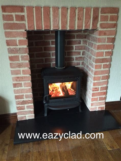Brick Cladding For Fireplaces by Information On Thin Brick Slip And Pictures Thin Brick Slips
