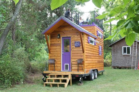 tiny house deck tiny house big living these itsy bitsy homes are feature