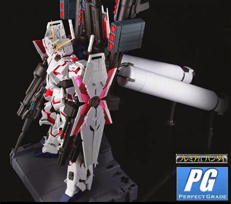 Pg Armor Unit For Unicorn Gundam Bandai p bandai armor set for pg rx 0 unicorn gundam big size official images revealed